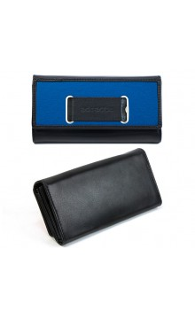Geldtasche black/blue
