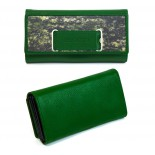 Geldtasche green/grey